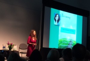 Lisa Garr at the Denver I Can Do It conference, April 2015