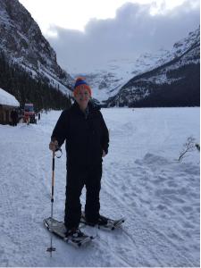 Tim at Lake Louise, March 2016